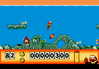 James Pond - Underwater Agent (USA, Europe) In game screenshot